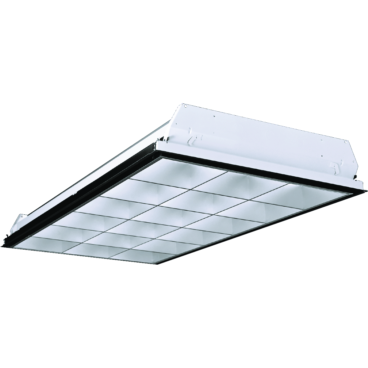 Recessed linear troffers commercial indoor lighting lighting p4d arubaitofo Choice Image