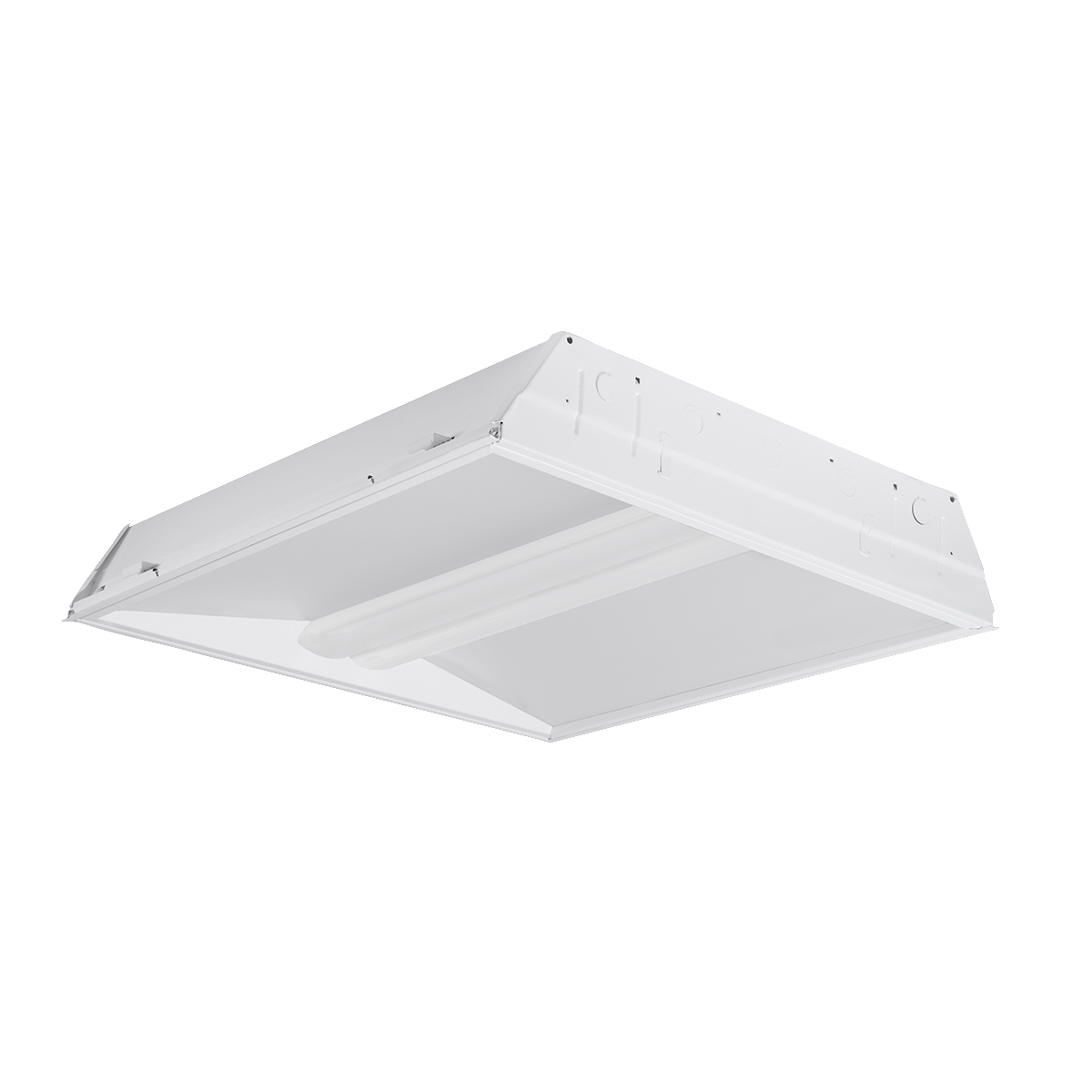 Recessed linear troffers commercial indoor lighting lighting rla arubaitofo Gallery