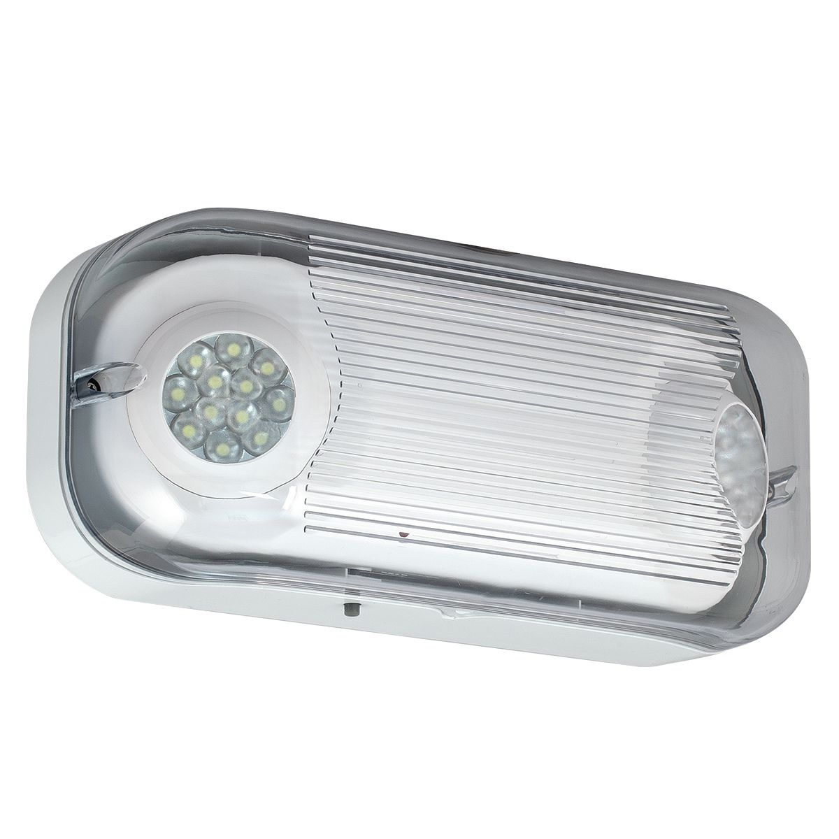 OUTDOOR EMERGENCY LIGHT LED WHT CSWEU