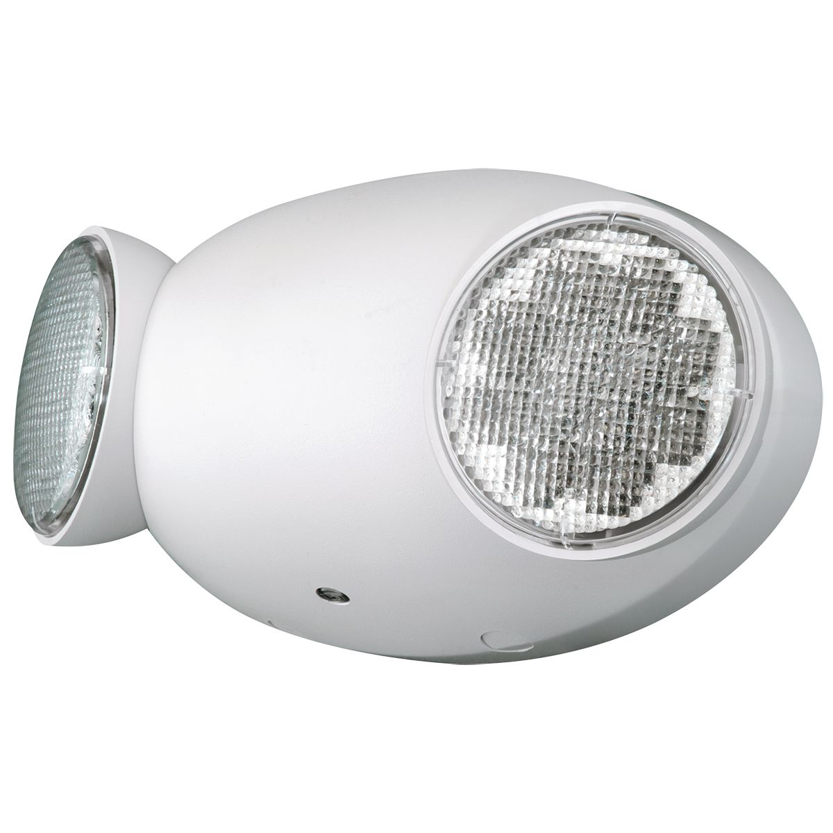 CU2 HUBBELL DUAL LED HEAD, WHITE 120-277V EMERGENCY LIGHT