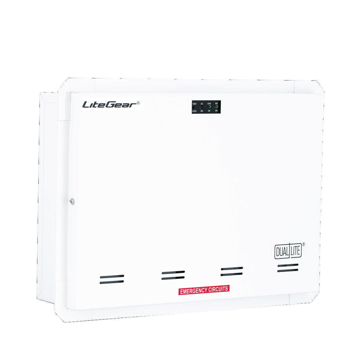 Litegear Series Central Lighting Inverters Emergency Exit Single Switch Application Use Normal Light As Click Dl Lg Prodimage Lg125r Lg125s Lg125t