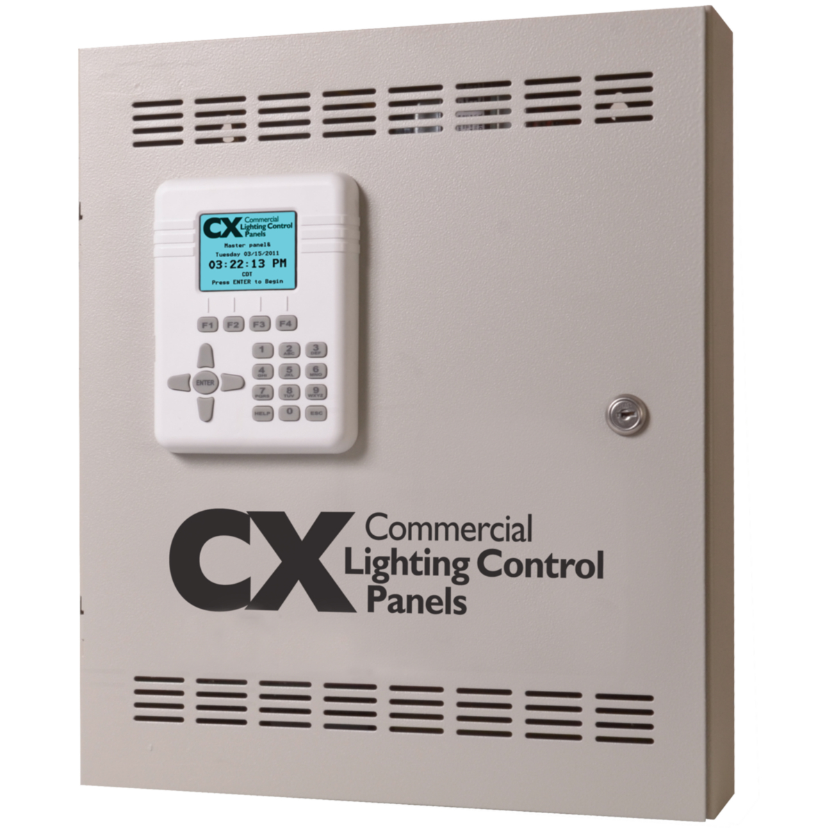 Cx Lighting Control Panels 4 And 8 Relays Brand Hubbell Fuse Relay Box Enclosure Hcs Cx04 Panel Jmk1192 3 Prodimage