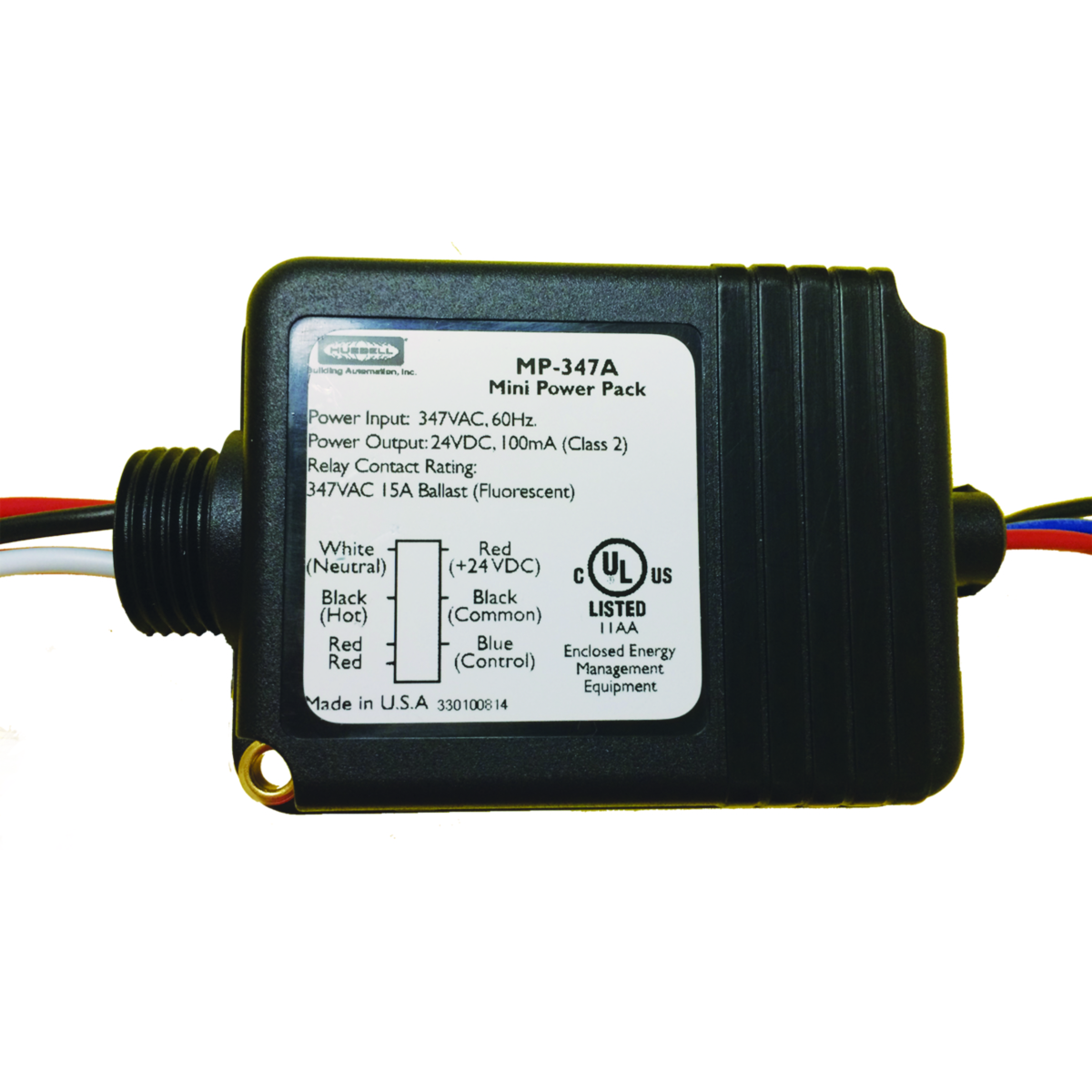 Occupancy Vacancy Sensors Lighting Controls Shop Vac For On And Off Switch Wiring Diagram Mp347a Power Pack