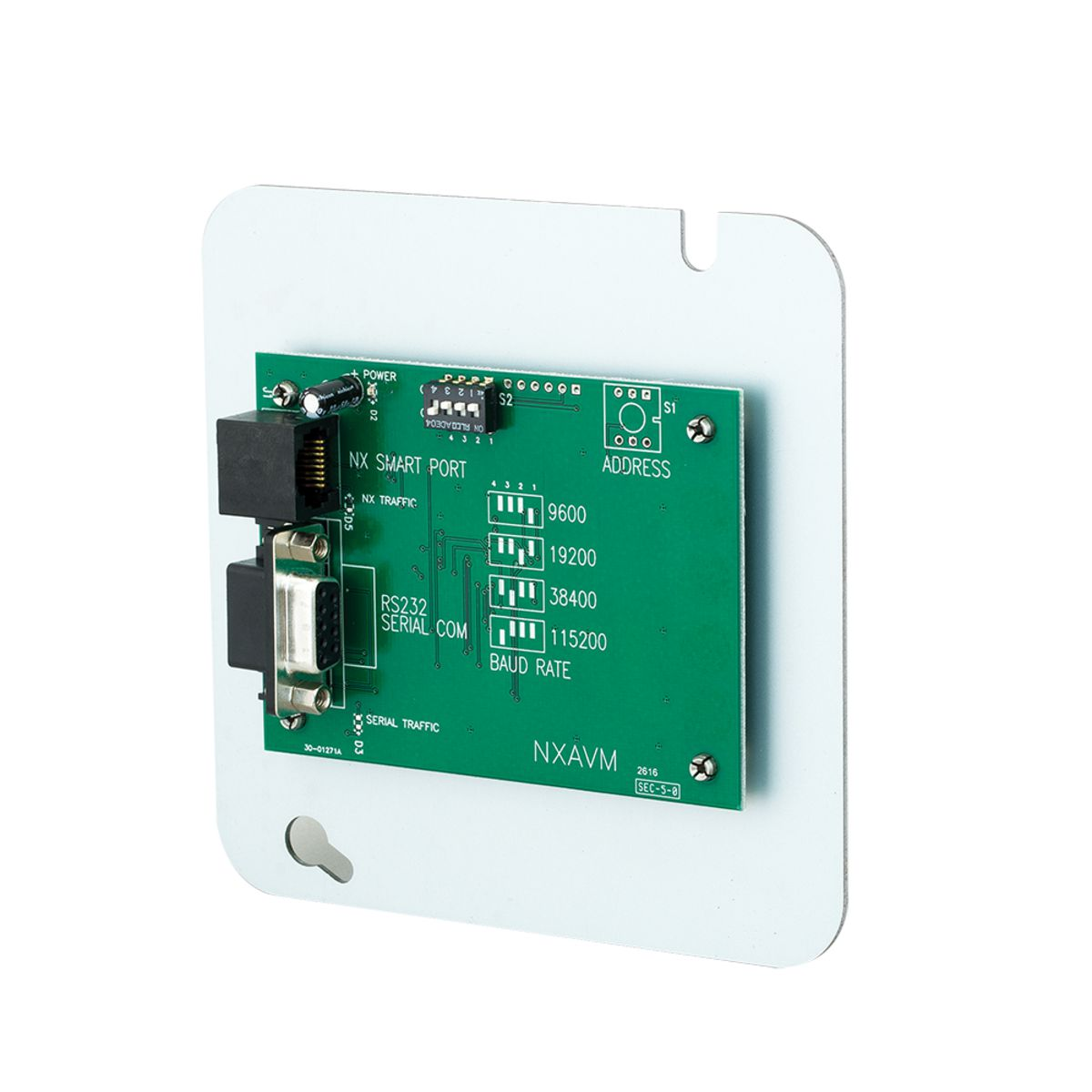 NX Audio Visual Interface Module | Brand | Hubbell Control Solutions