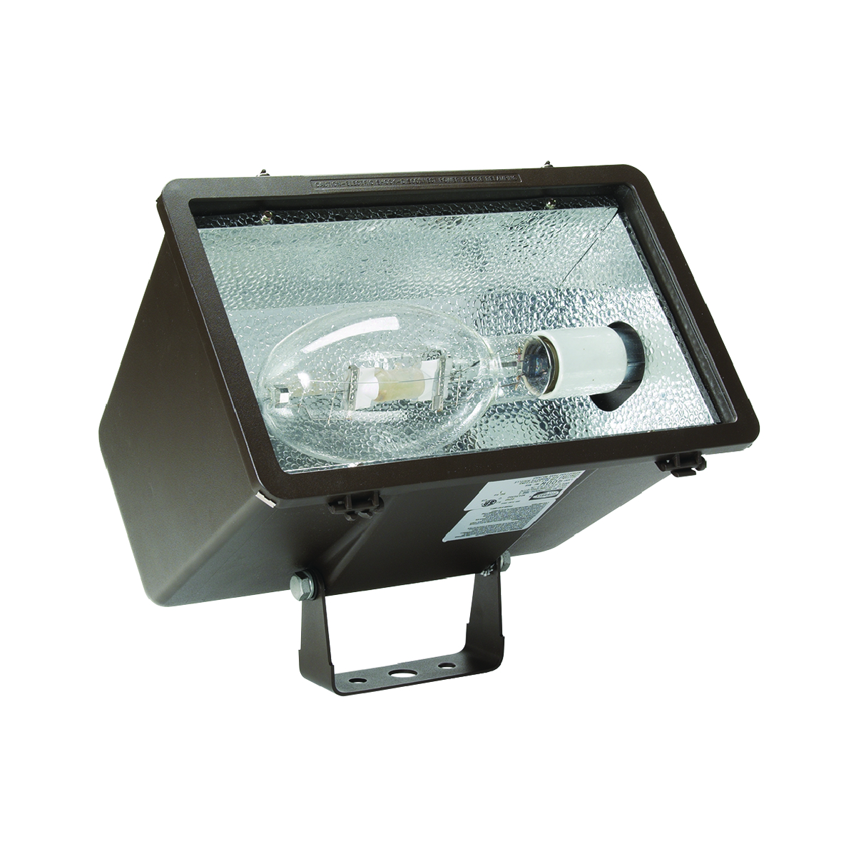 HBLMHS-Y400P8 FLDLGHT 400W PS QTAP WIDE YOKE W/LP BRZ, HUBBELL LIGHTING