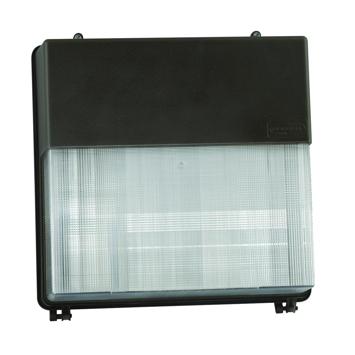 HBLPVL3-150P-18-BZL 150W PULSE START WALL PACK QUAD TAP W/LAMP #PVL3-150P-18-BZ-L