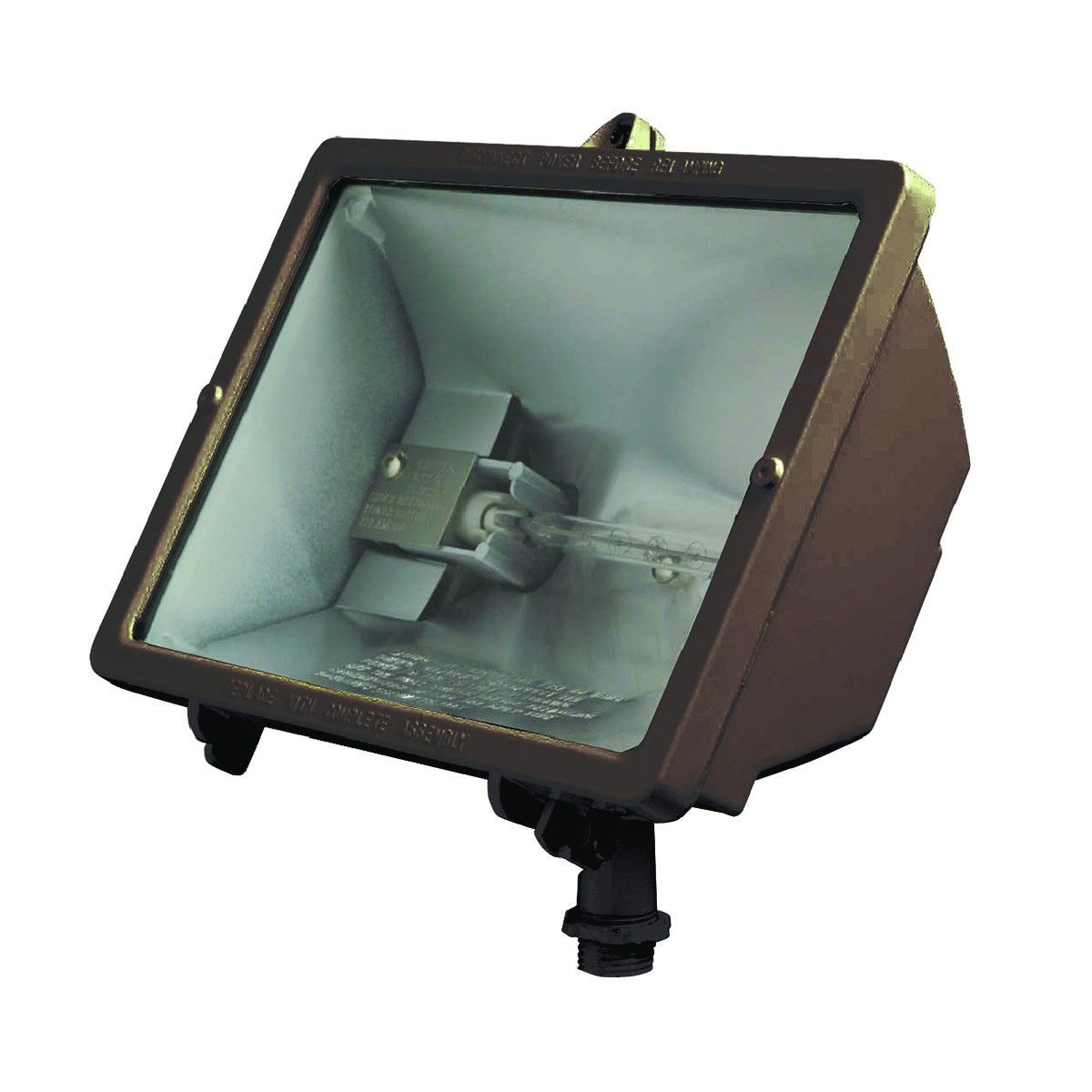 Hubbell Inc Q 500 B Flood Light Halogen Watt 120 Volt Bronze Summit Electric Supply Whole Electrical Supplies And Tools Distributor