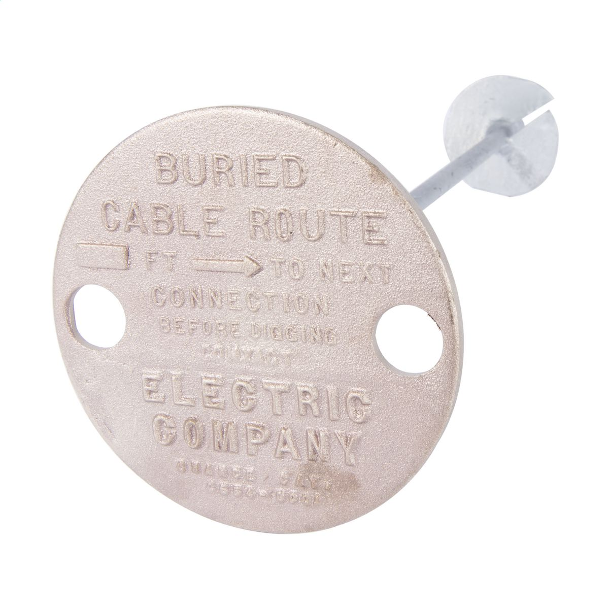 Marker Cable Route Electric Co Brand Hubbell Power