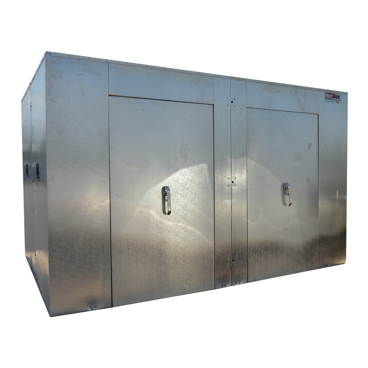 Heated, Insulated Enclosure, Sectional, Hot Box, Aluminum | Brand ...