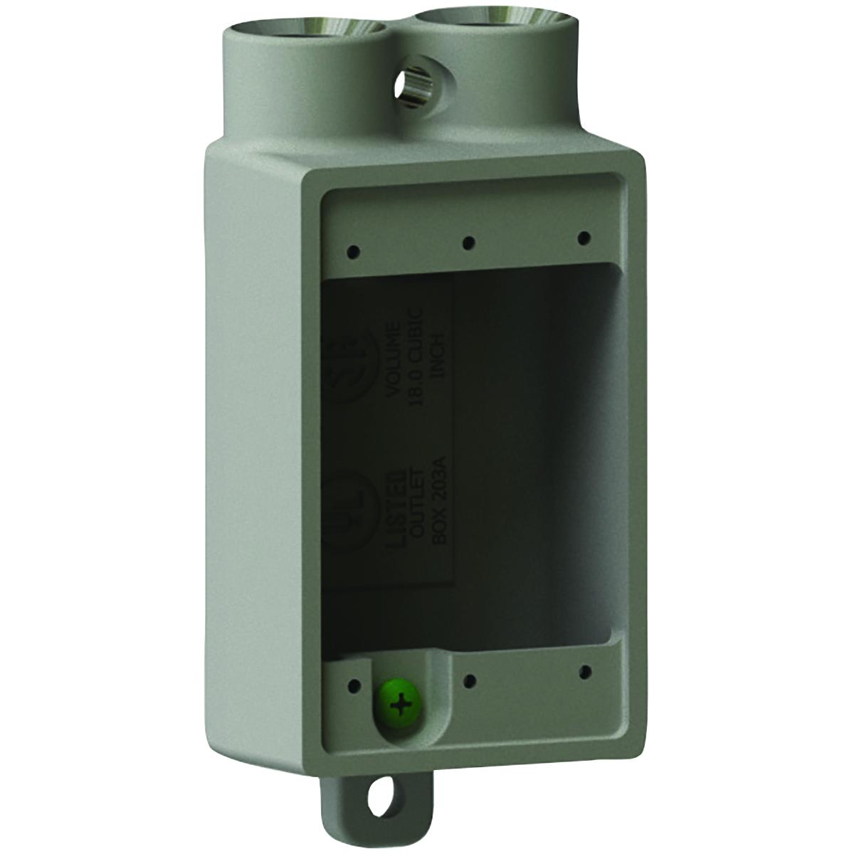"""Killark FSS-2 3/4""""Aluminum, FSS Type Shallow Device Box"""