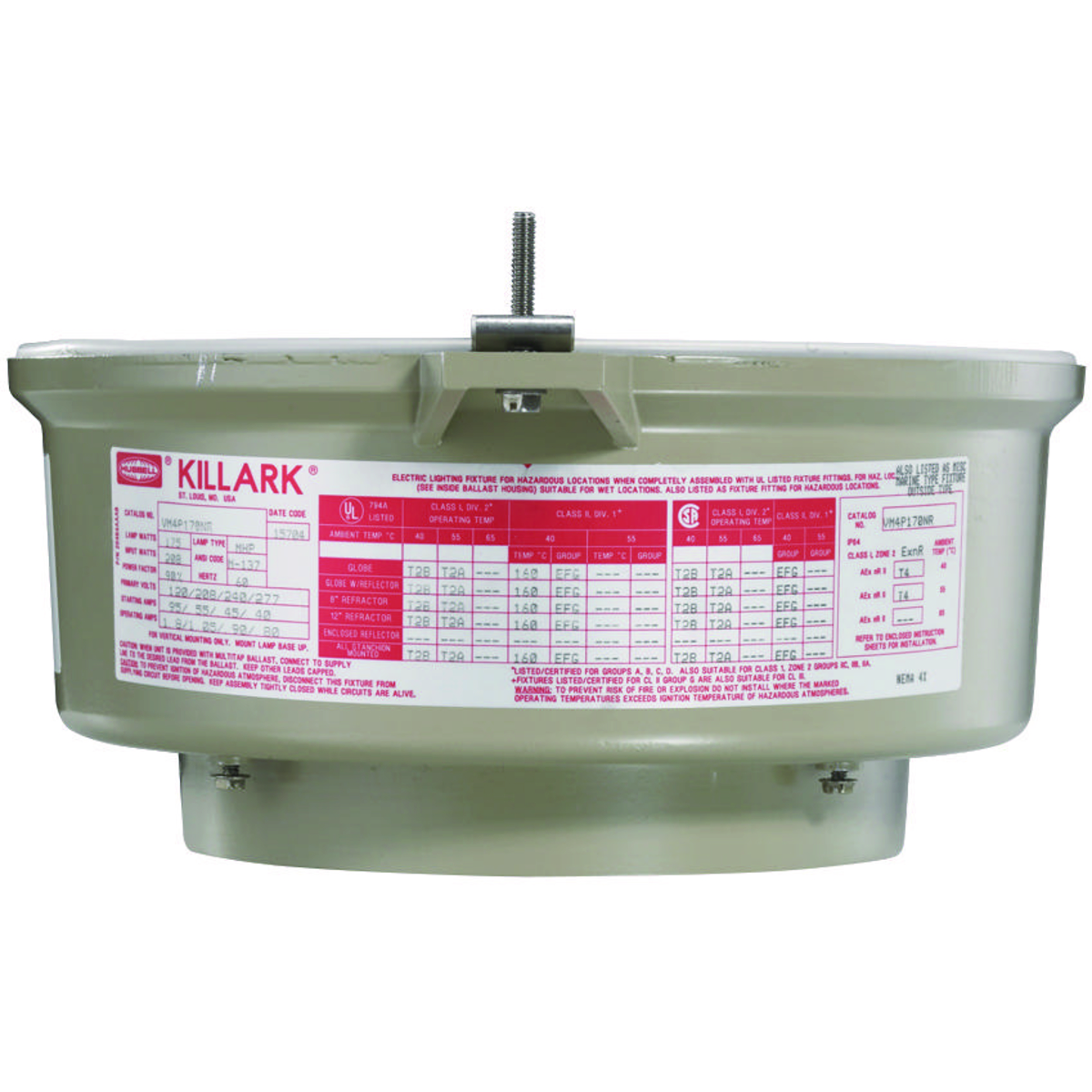 Killark Led High Bay: VE4Q8484E30