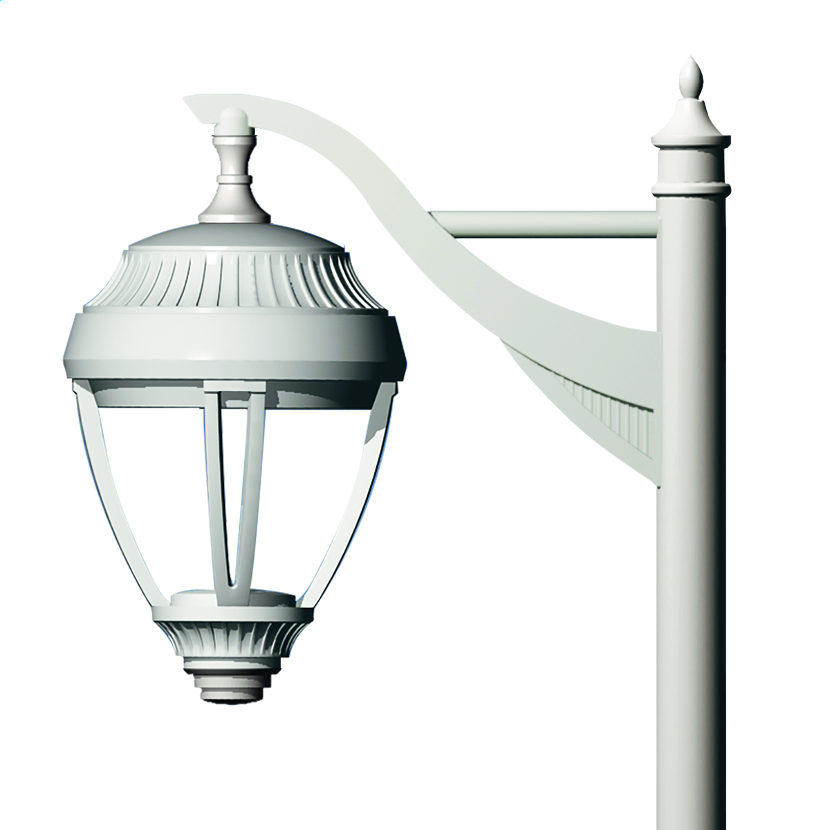 Side pole neo classic arm poles arms commercial outdoor side pole neo classic arm by kim lighting workwithnaturefo