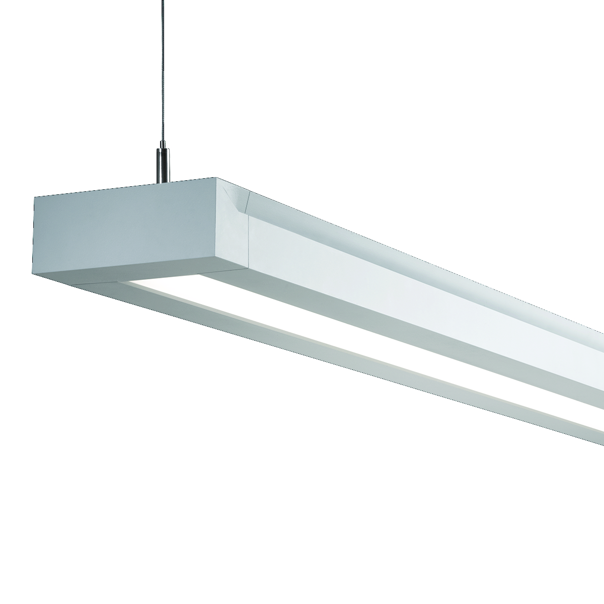 Rail LED Pendant Indirect/Direct