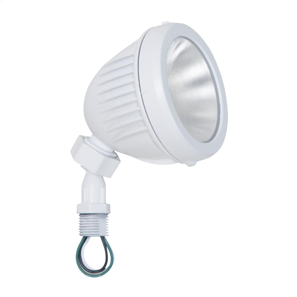 RAC LL1000W LED Swivel Floodlight/Lampholder 1000Lumen 13W - White CS=4