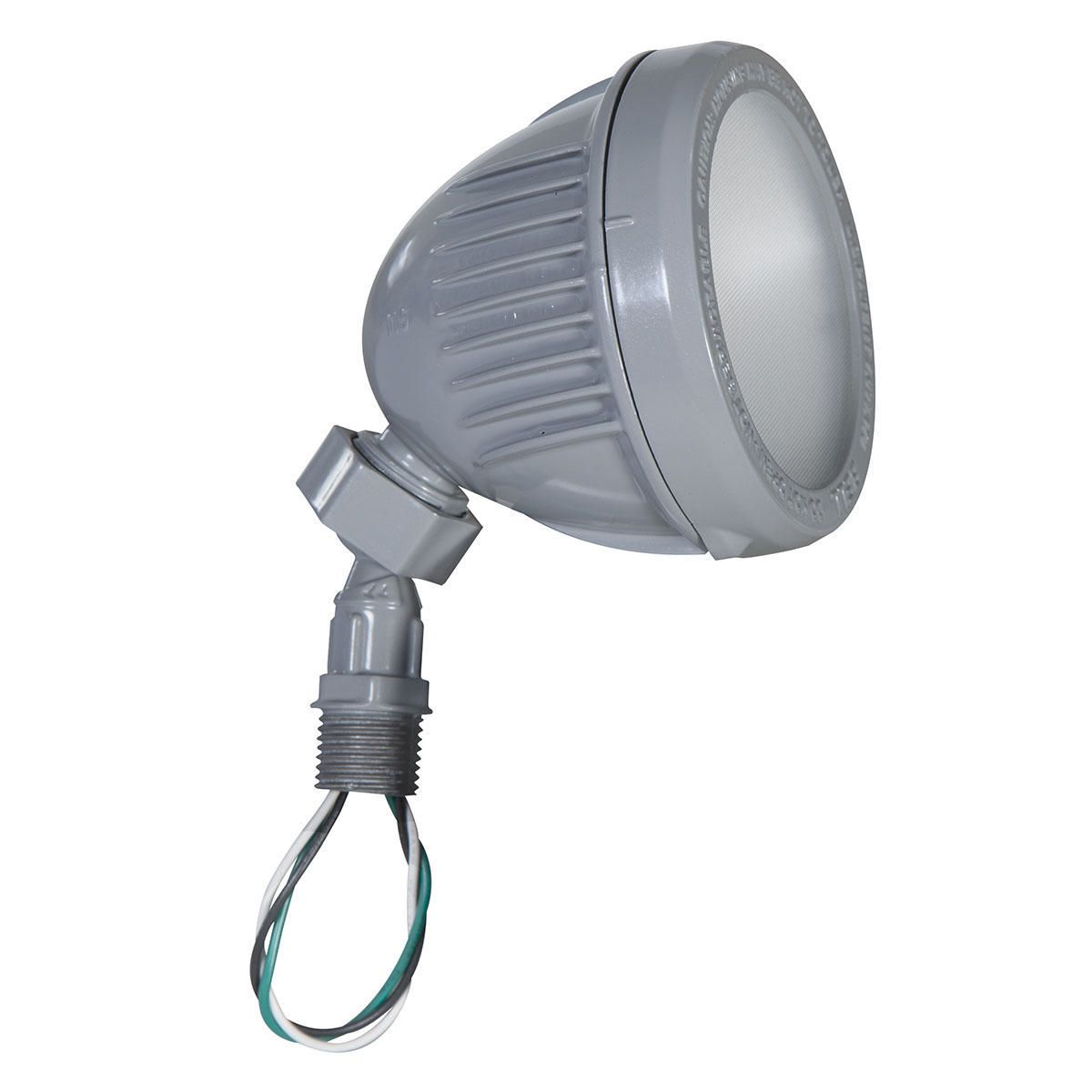 LED SWIVEL FLOODLIGHT 1200 LUMEN GRAY