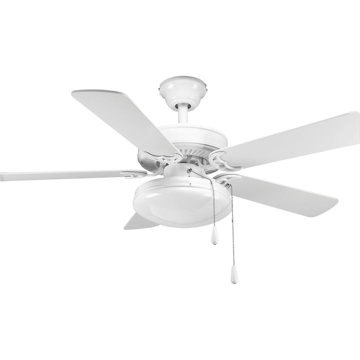 Airpro collection builder 42 5 blade ceiling fan brand progress progp250030 w p260230prodimage aloadofball Choice Image