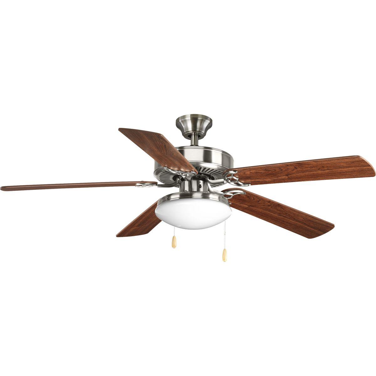 Airpro collection builder 52 5 blade ceiling fan brand progress progp250109wp260209prodimage aloadofball Choice Image