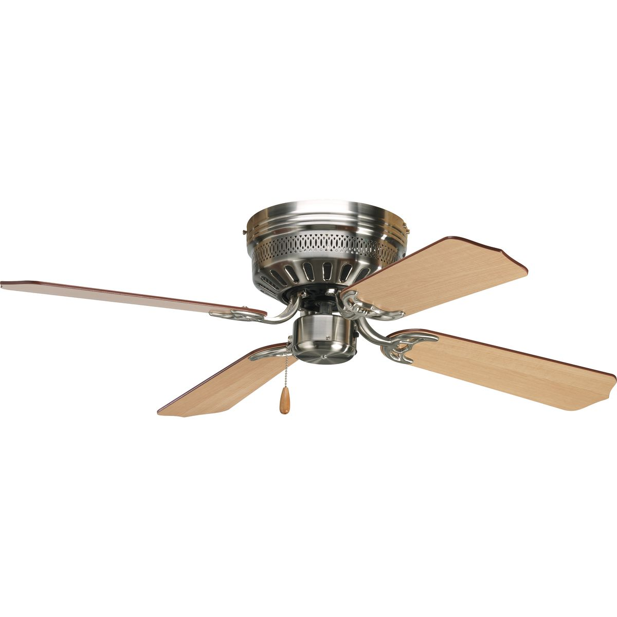 Airpro Collection 42 Four Blade Hugger Ceiling Fan P2524 09 Progress Lighting