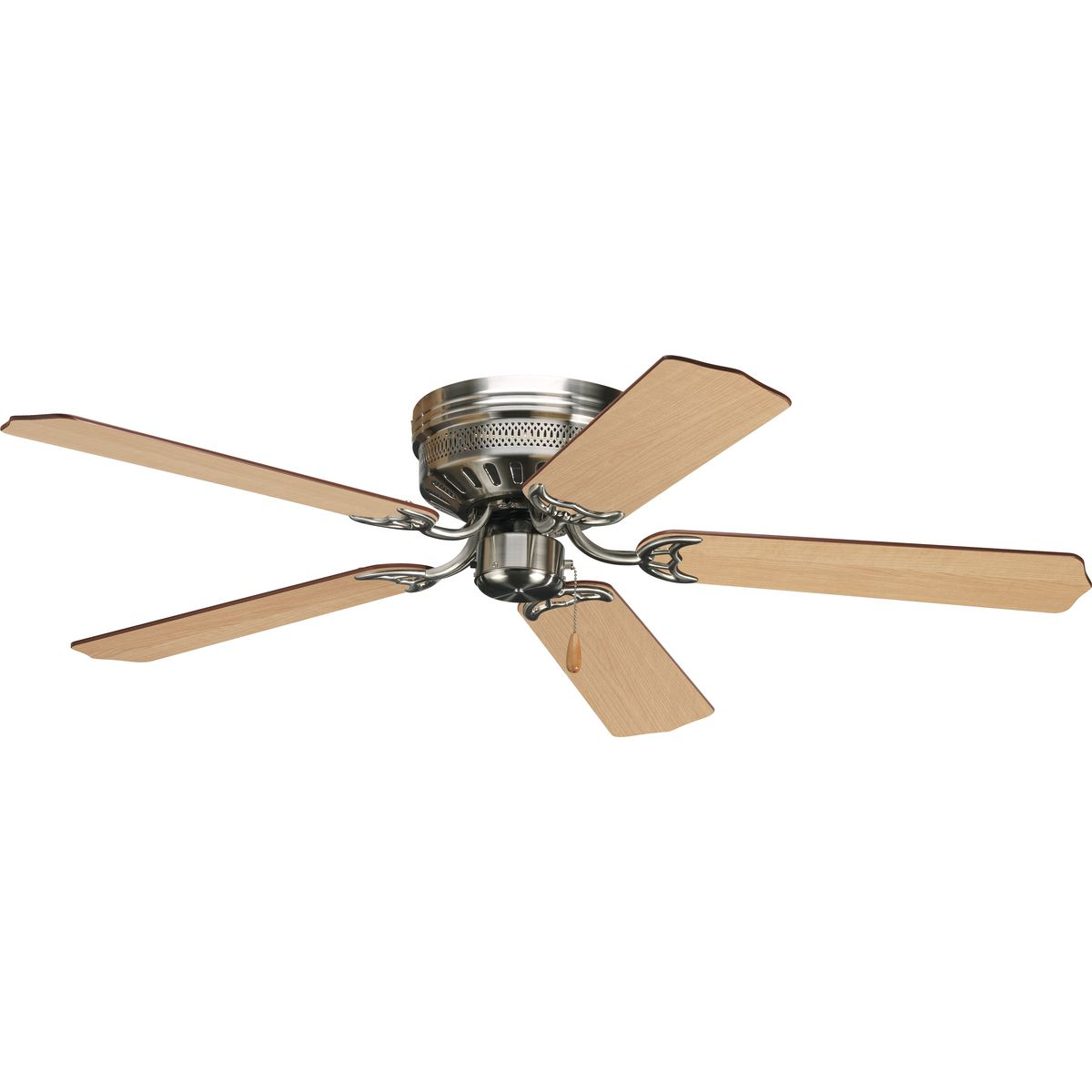 Airpro Collection 52 Five Blade Hugger Ceiling Fan P2525 09 Progress Lighting