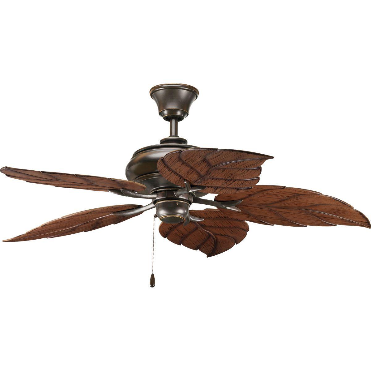 Five Blade Indoor Outdoor Ceiling Fan