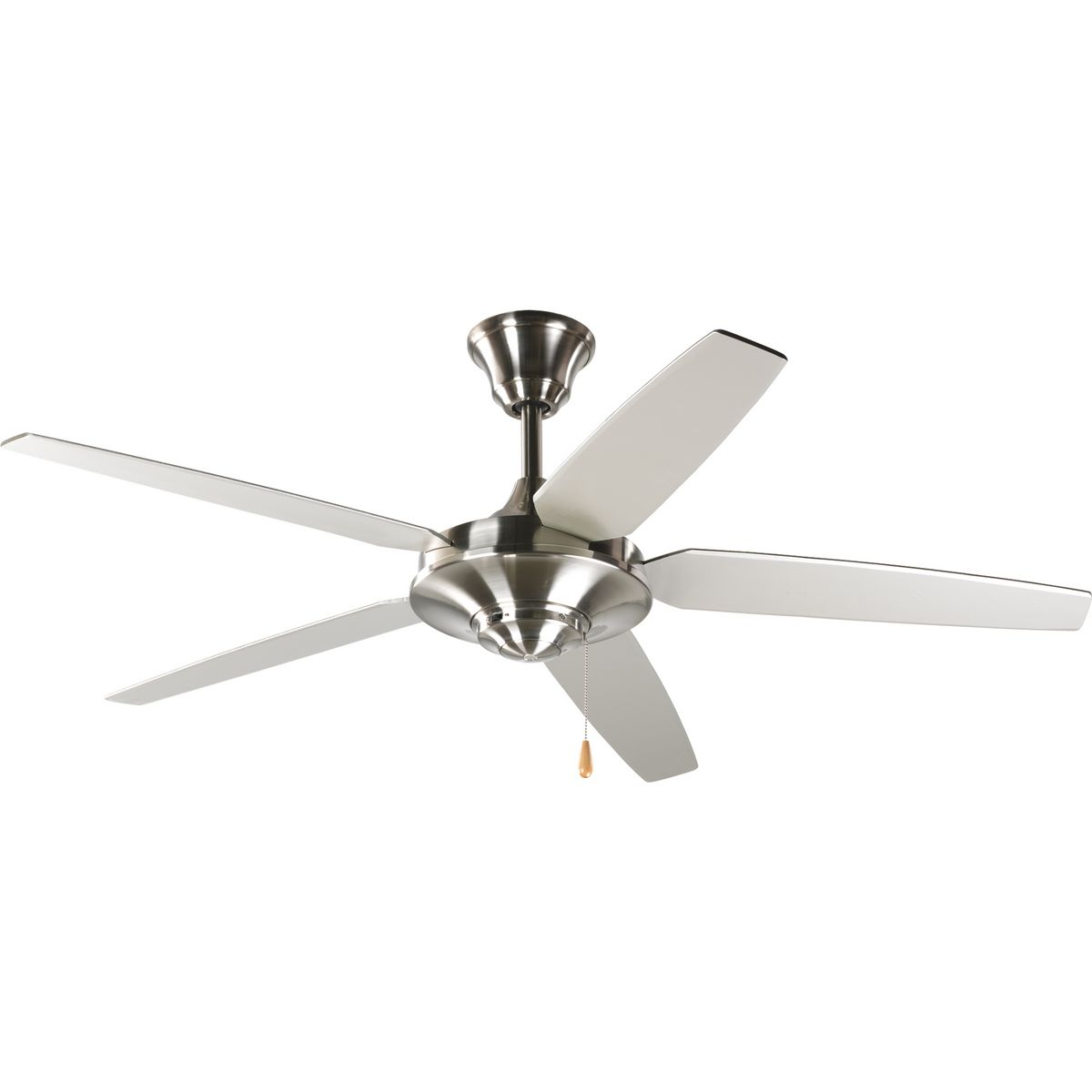 "PRO P2530-09 54"" AirPro Brushed Nickel Ceiling Fan w/Blades -MIM-"