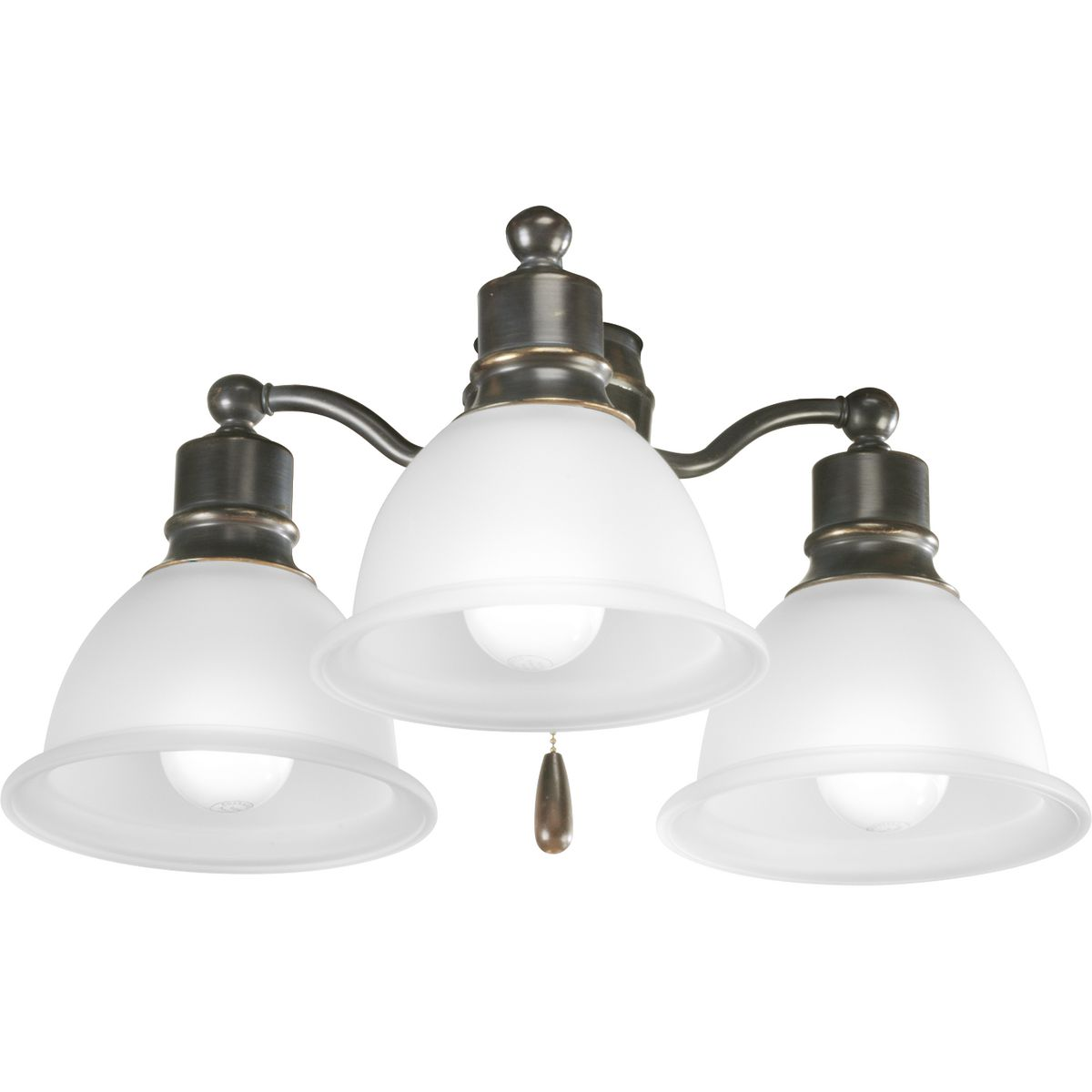 Madison Collection Three Light Ceiling Fan P2623