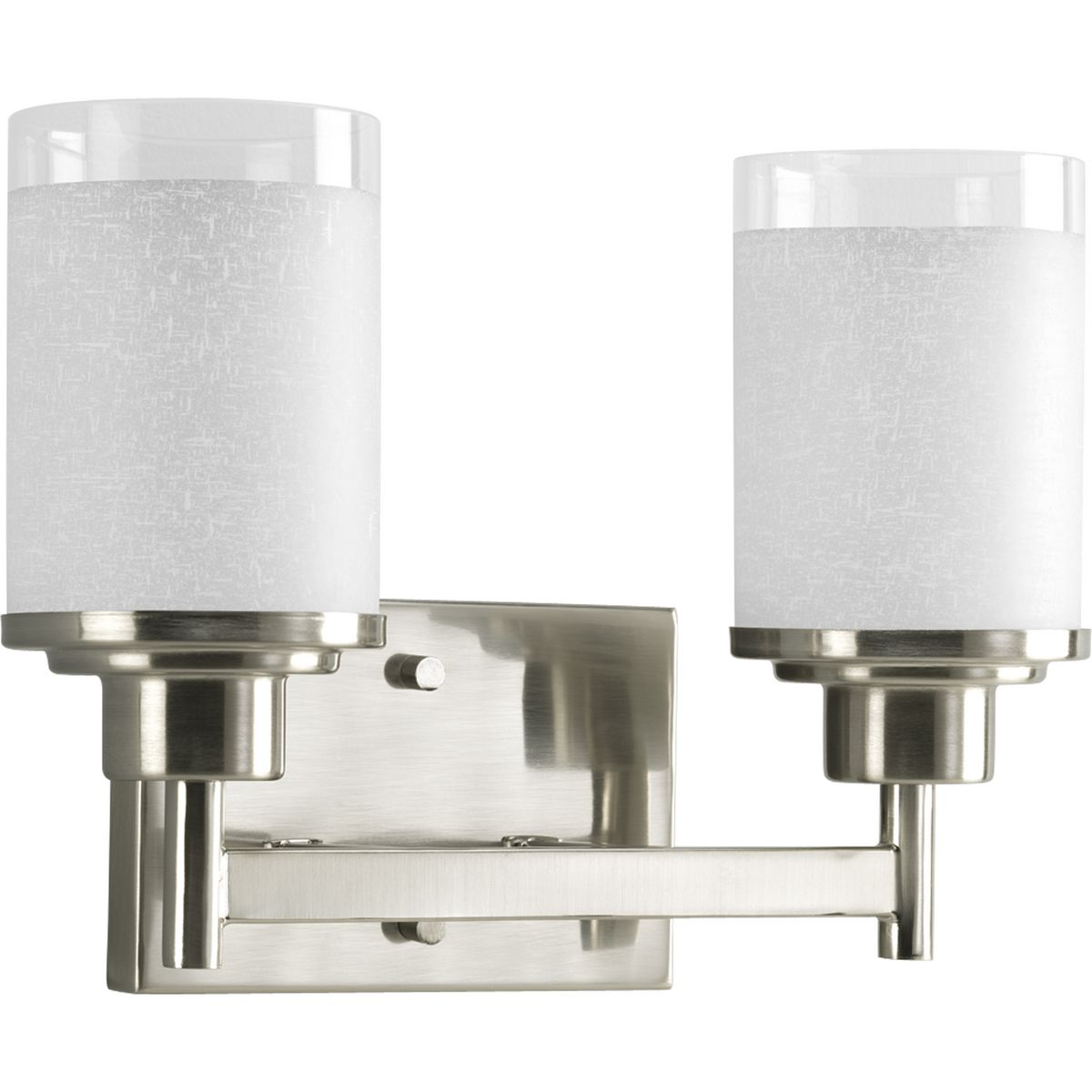 PRO P2977-09 2X100M Alexa Brushed Nickel Bath Vanity Light