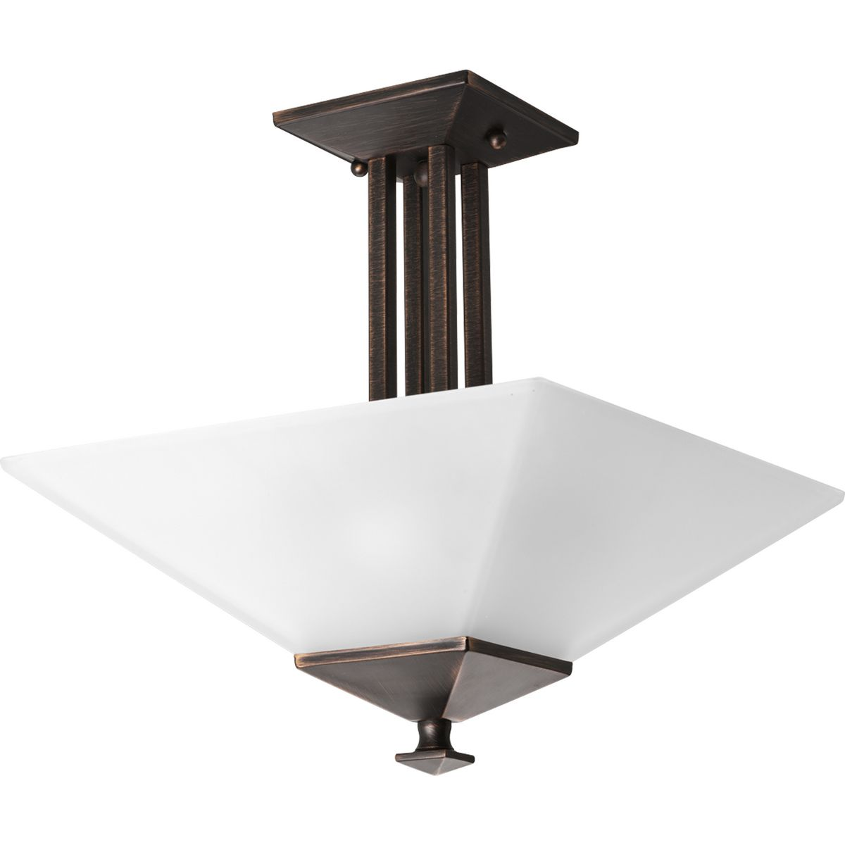 North Park Collection Two Light 12 3 4 Close To Ceiling