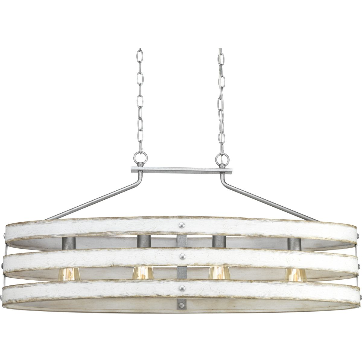 Gulliver Collection Four Light Linear Chandelier P400097