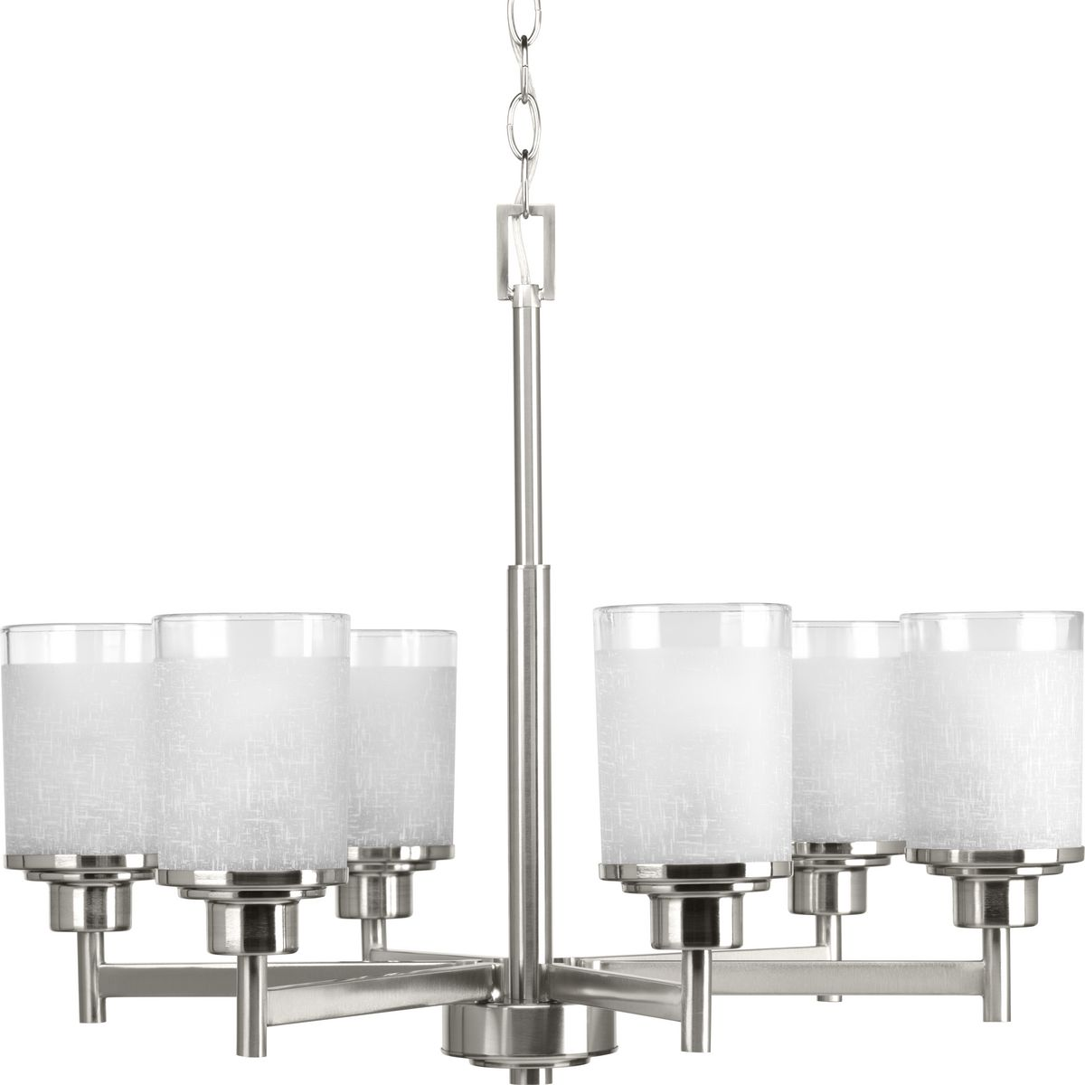 Alexa Collection Six Light Chandelier Brand Hubbell Parts Diagram What Make Up A Prog P4758 09 Prodimage Glass 2 Detailshot Finish 1 Bath Img 2940