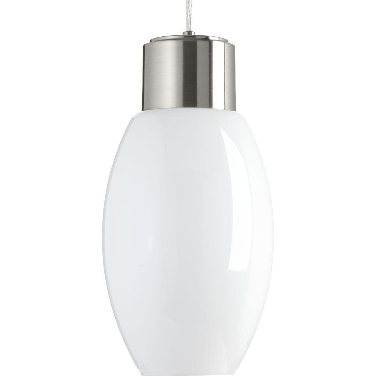 P500066-009-30 PROGRESS NEAT LED ONE-LIGHT PENDANT NICKEL