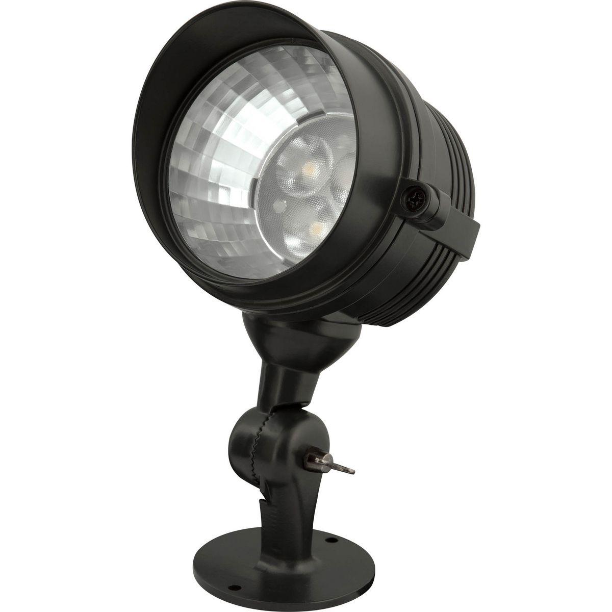 3W LED PATH LIGHT Black