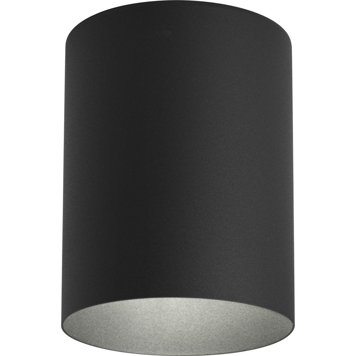5 Black Outdoor Ceiling Mount Cylinder P5774 31 Progress Lighting