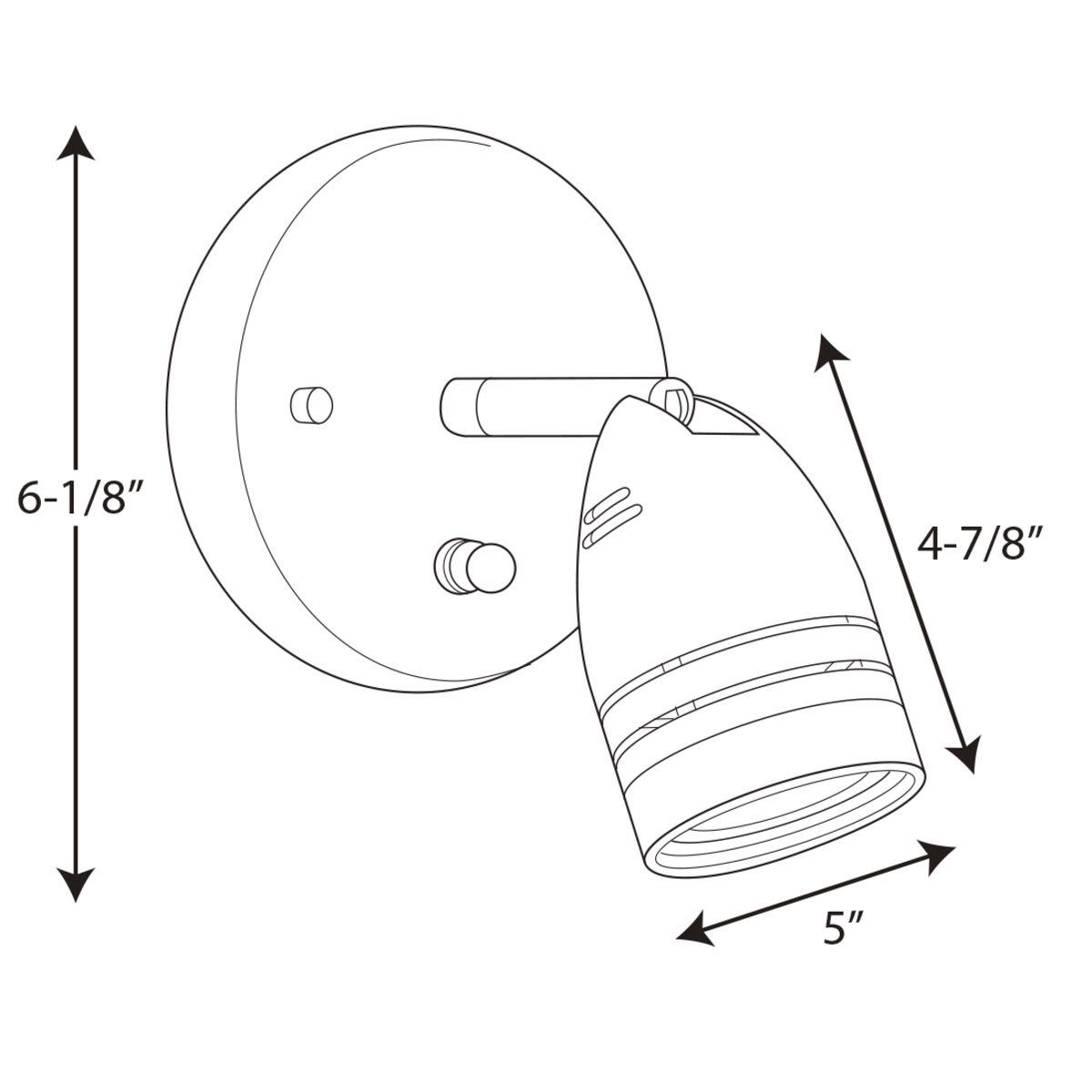 Progp615409wbprodimage Progp6154dimensionslineart: Hubbell Lighting Inverter Wiring Diagram At Chusao.net
