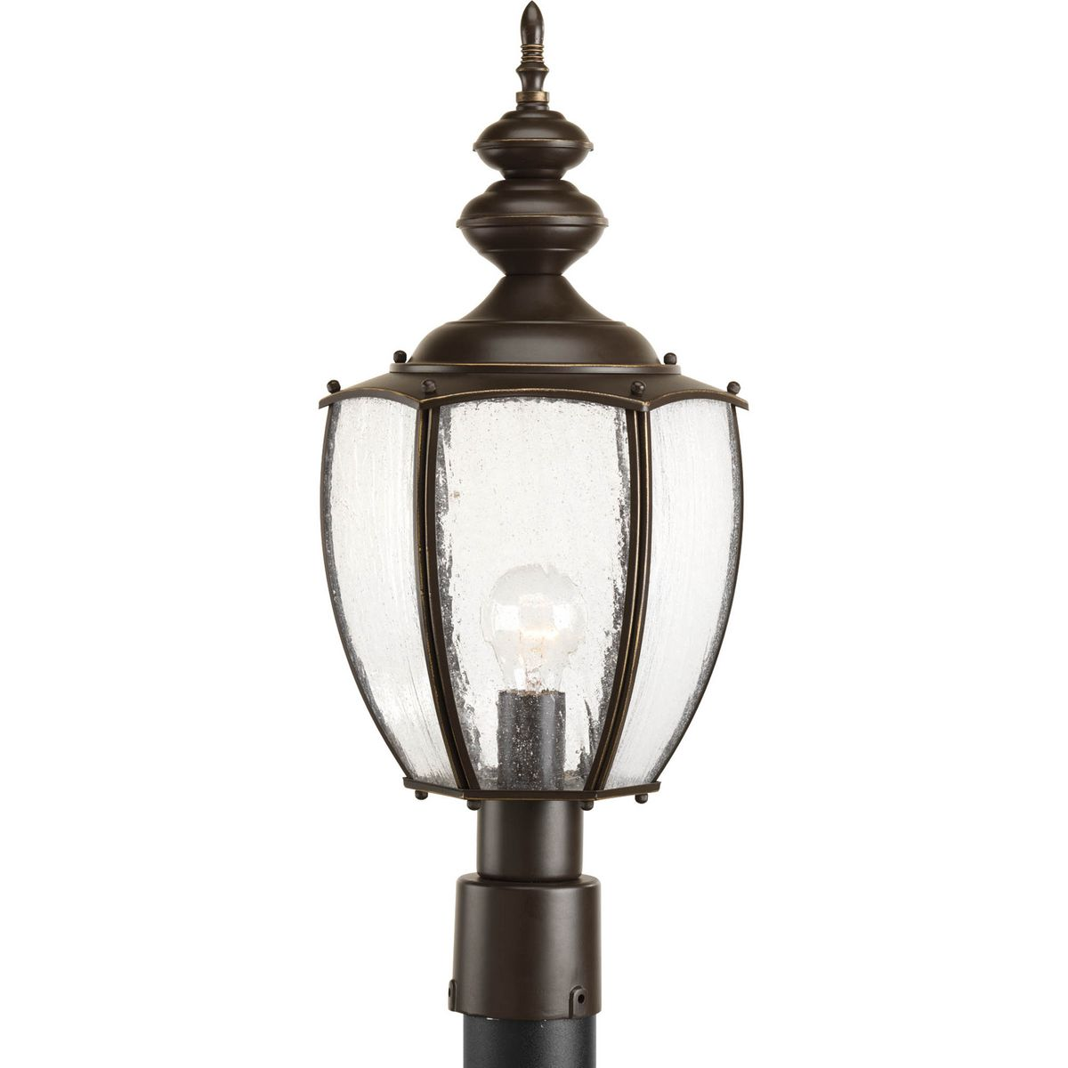 PRO P6417-20 1X100M Roman Coach Antique Bronze Post Light