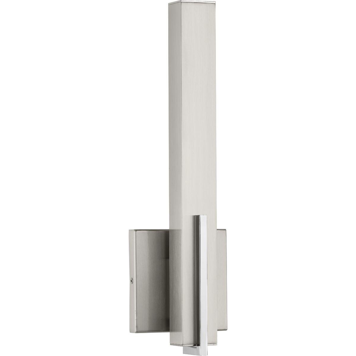 Wall Sconce Led Lighting: Planck LED Collection One-Light LED Wall Sconce, Brushed