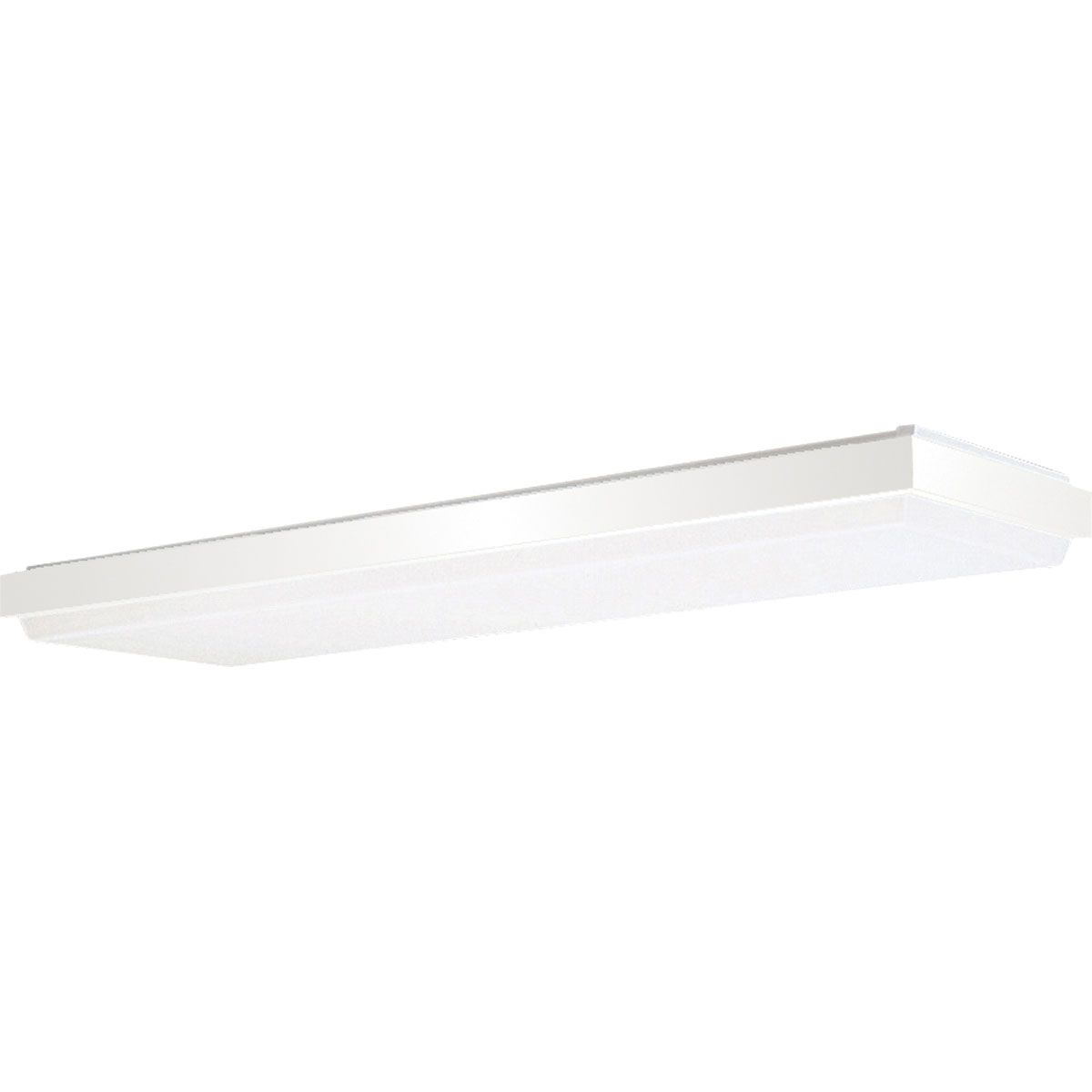 PRO P7264-30EB 4XF32T8 White Acrylic Diffuser Fluorescent Light -MIM- Discontinued by the mfg 06/2019