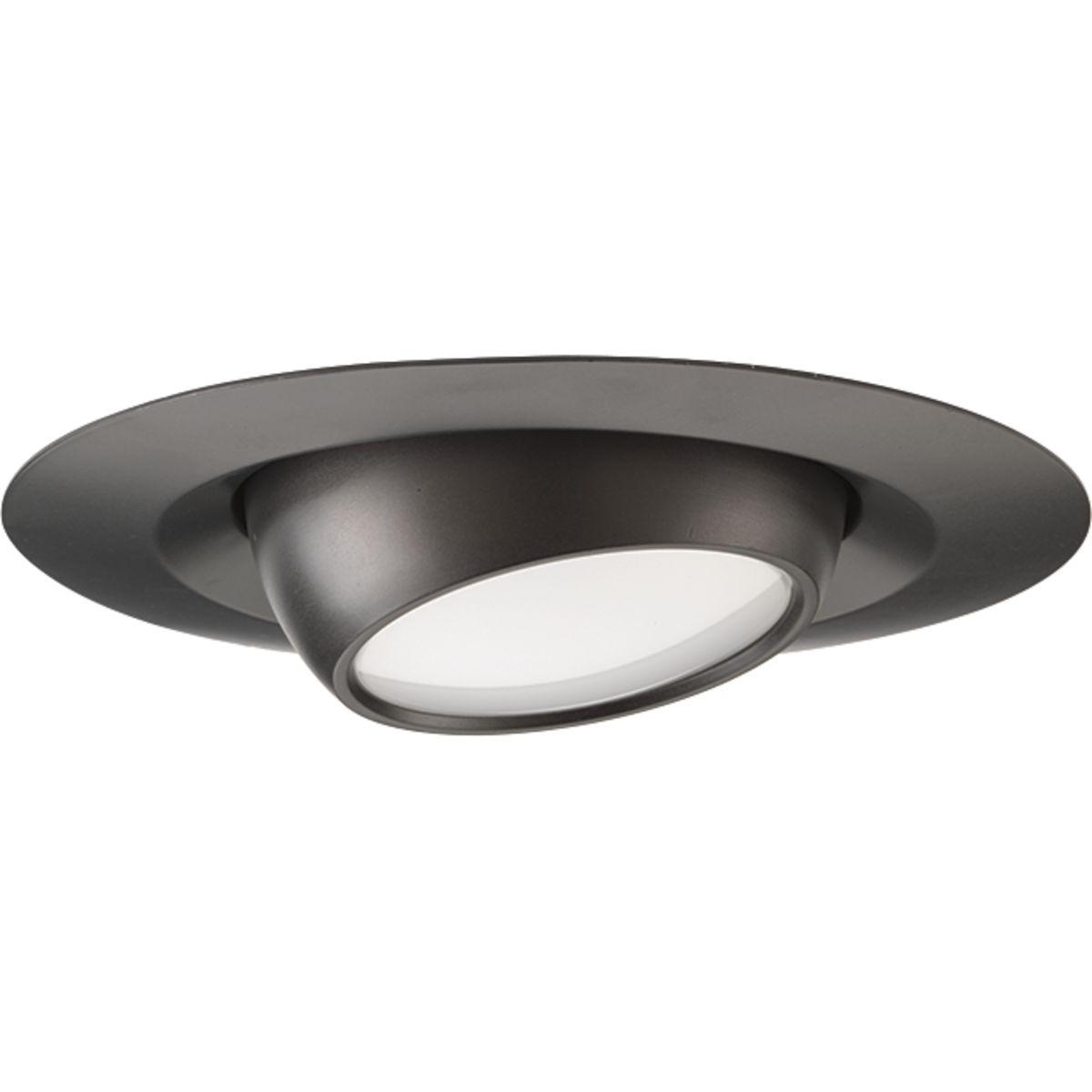 P8046-31-30K PROGRESS 4IN LED EYEBALL TRIM BLACK