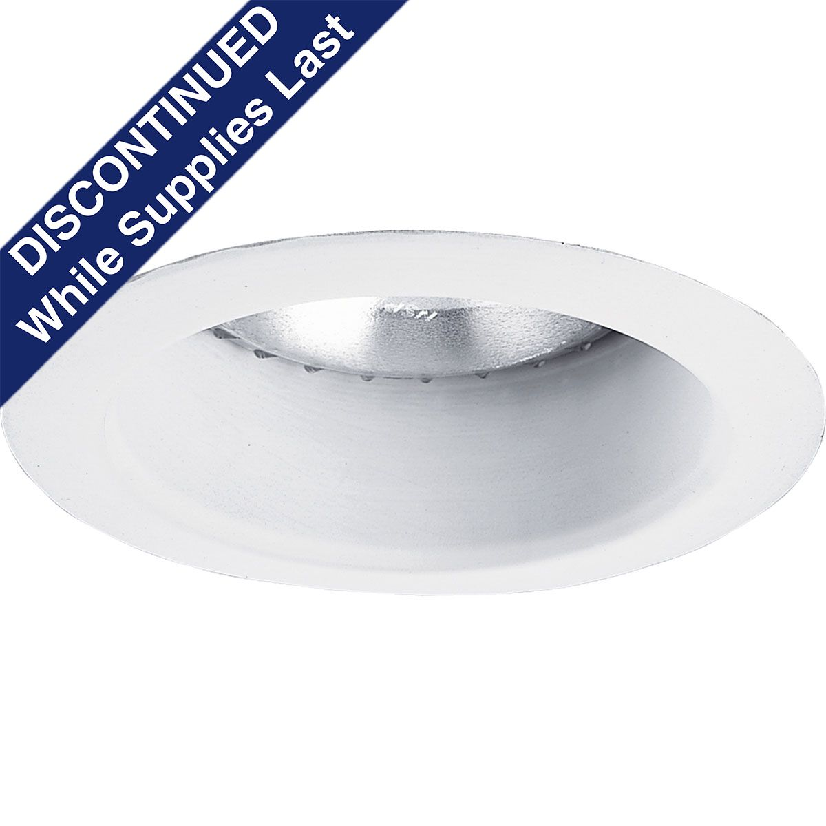 PROP8168-28 OPEN REFLECTOR; ALUMINUM; BRIGHT WHITE; 5 INCH NOMINAL APERTURE SIZE; ROUND APERTURE SHAPE; (1) PAR30/R30 75 W INCANDESCENT LAMP; INSULATED/NON INSULATED CEILING; SIZE 6 1/8 INCH W; APPLICATION DAMP LOCATION; APPROVAL UL, CUL; PROGRESS LIGHTING[R] BRAND, PROGRESS