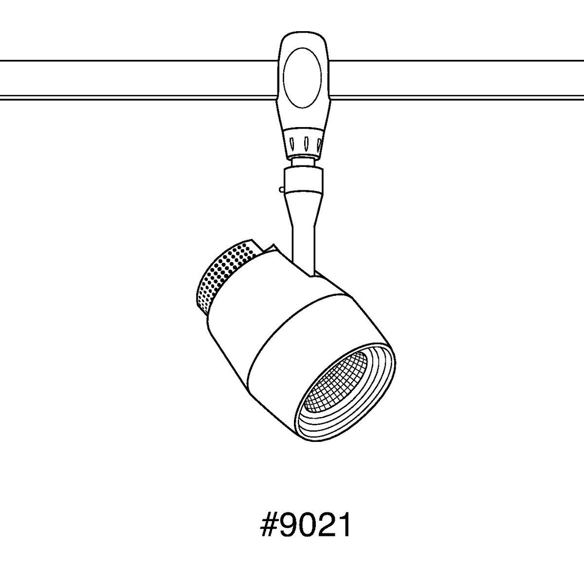 Image of: Led Flex Track Med Flex Head Mesh Design Track Lighting P9021 09 27k9 Progress Lighting