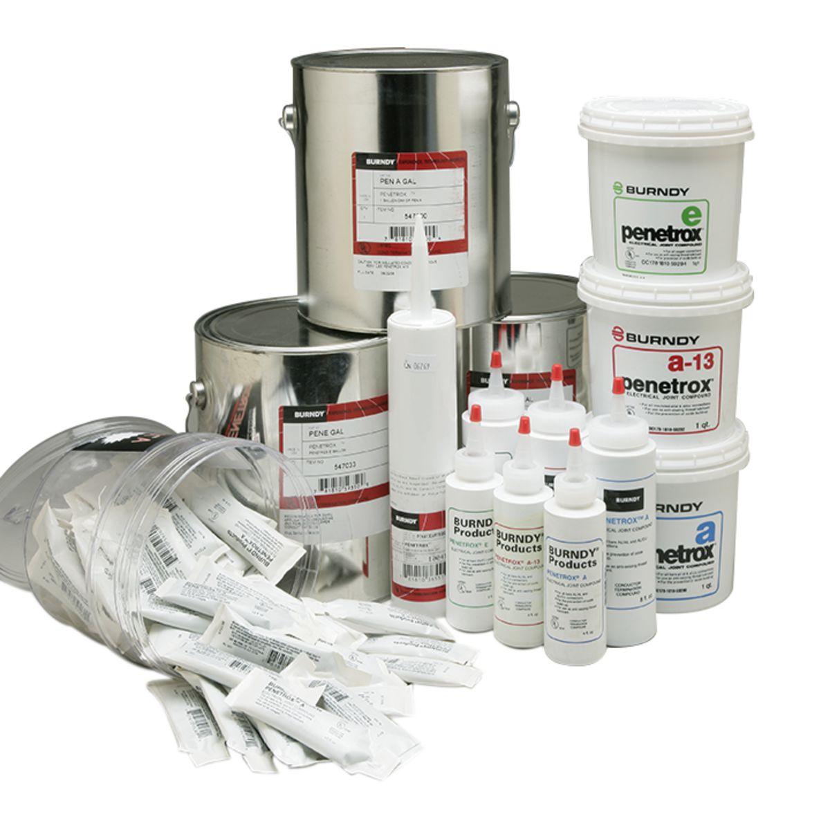 Burndy PENA13-4 PENETROX-E™ Joint Compound - 4oz Squeeze Bottle