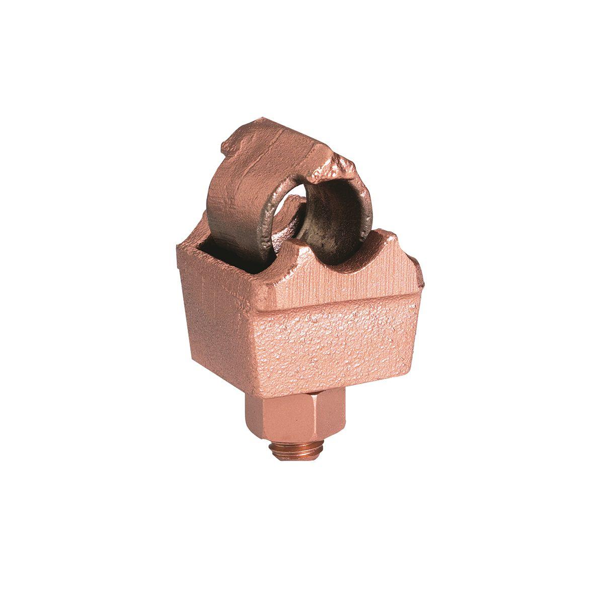 Burndy QGFL34B1 1/0sol-500MCM Copper Mechanical BARTAP - Copper Cable to Flat Bar/Pad