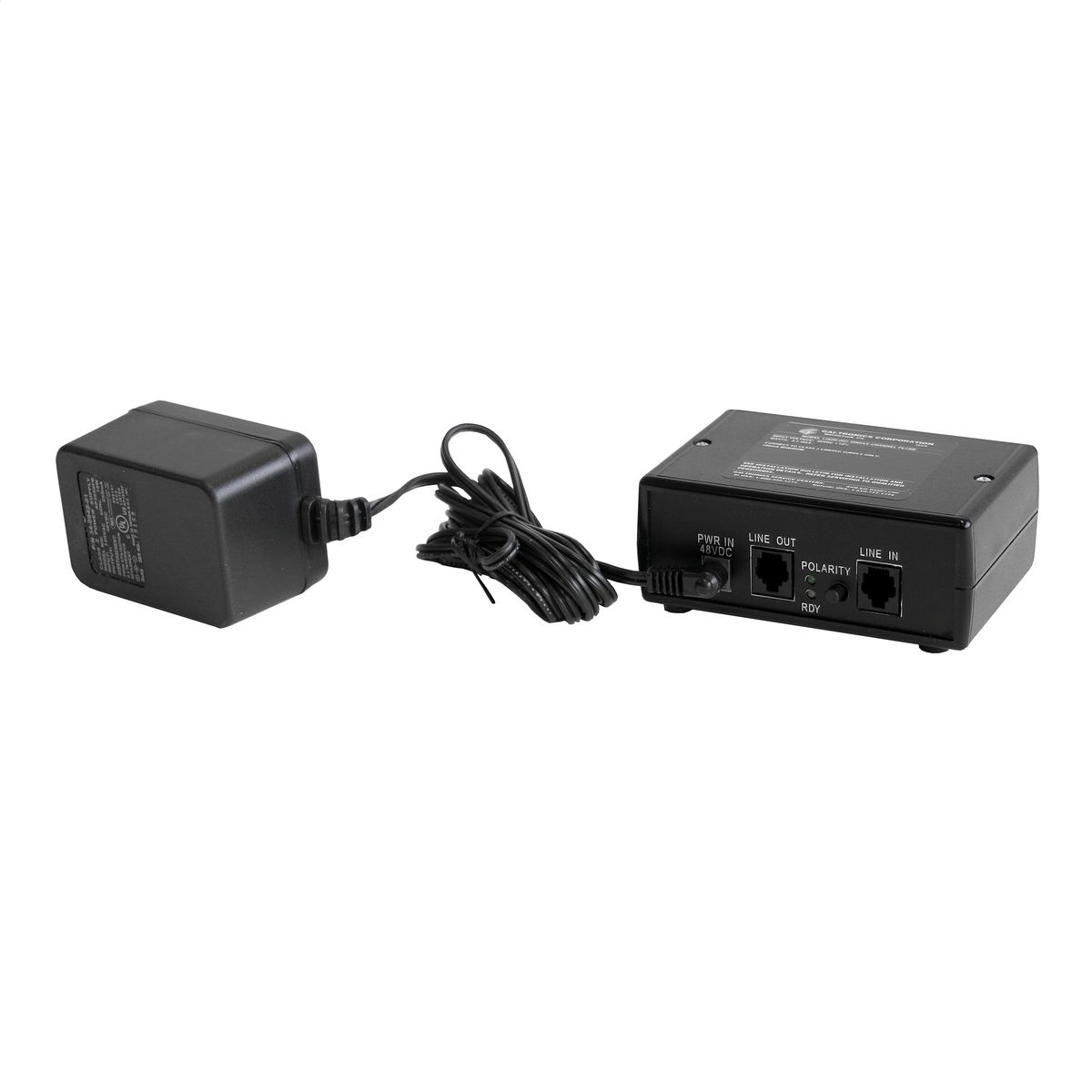Telephone Line Current Booster, Single-Channel | 12600-002