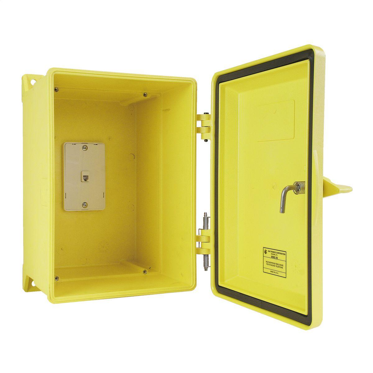 255-003YLSK  sc 1 st  Hubbell & Weatherproof Telephone Enclosure | Brand | GAI-Tronics