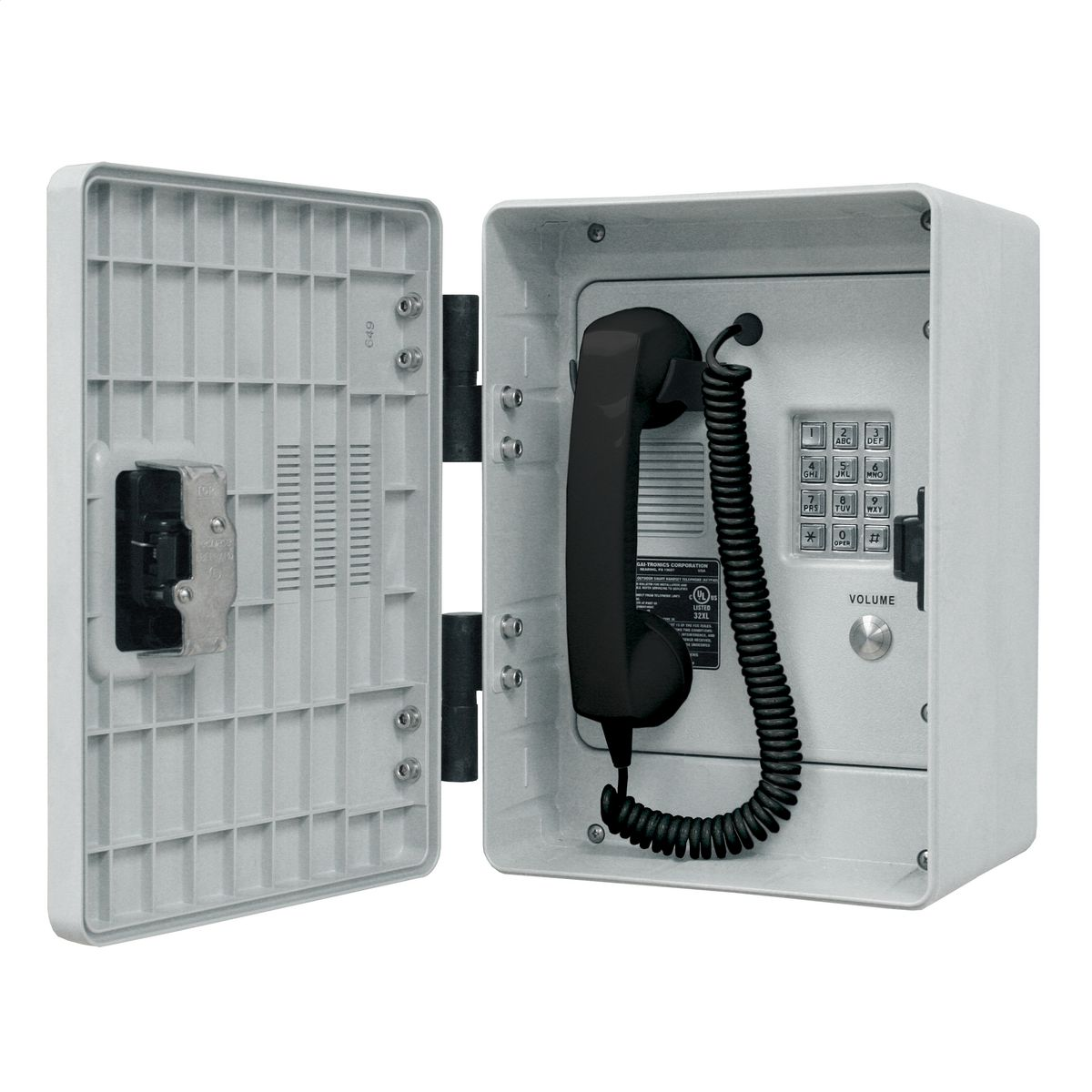 Outdoor Rugged Telephone Voip Keypad
