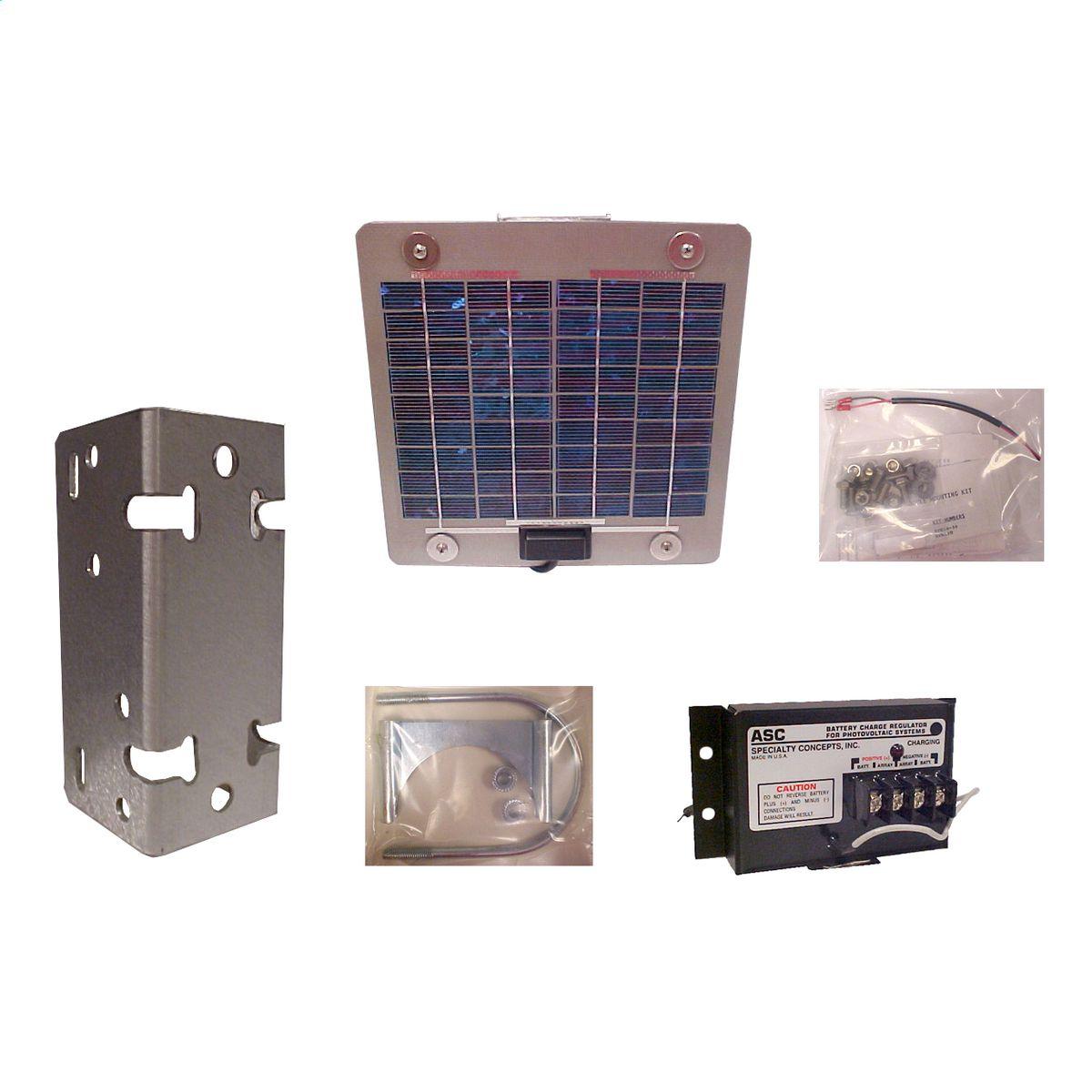 Solar Panel Kit For Rf Call Box Spk100 Gai Tronics