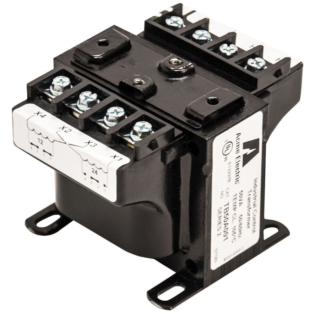 Representative image. TB75A013C. by Acme Electric. Catalog ID: TB75A013C. Industrial  Control Transformer . ...