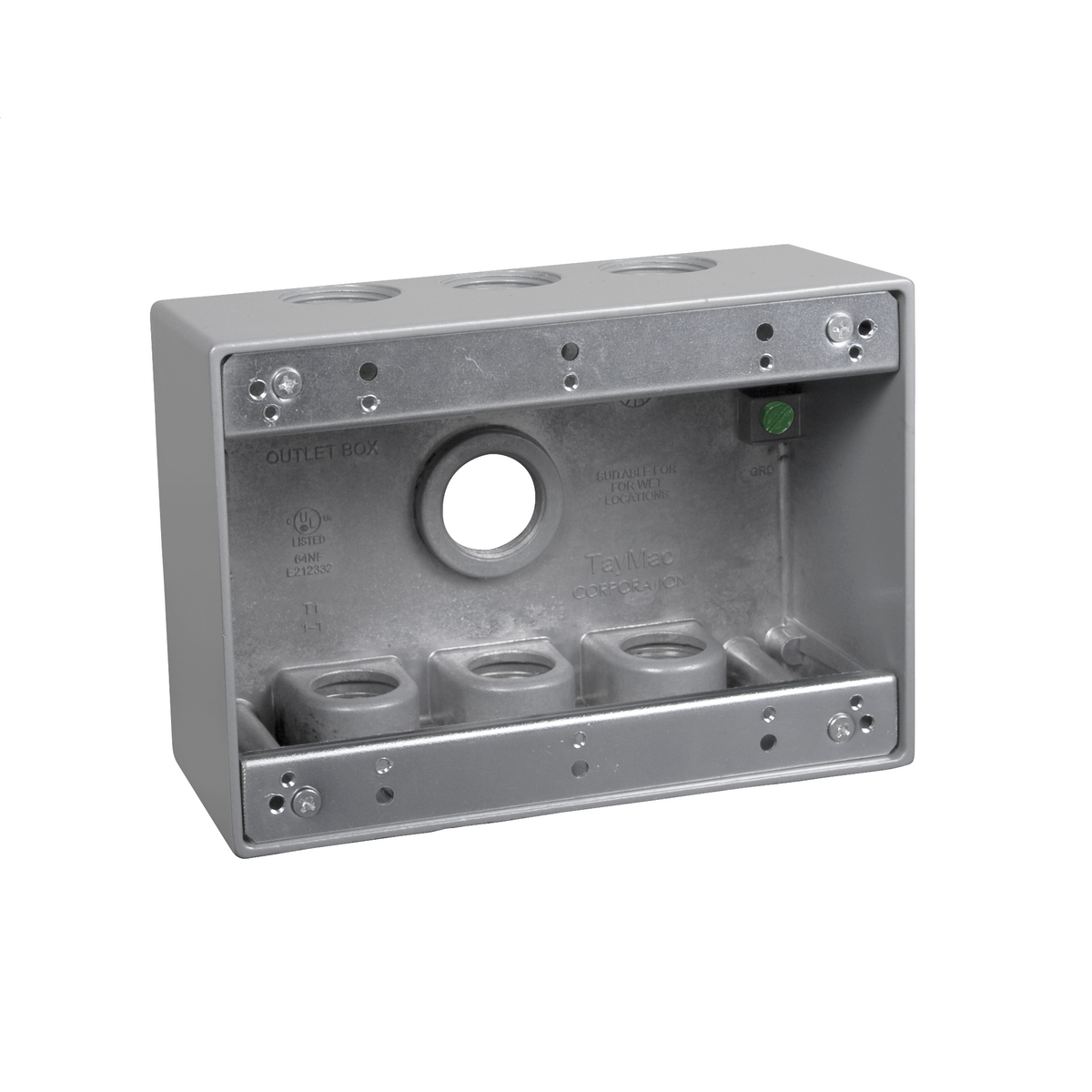 TMAC TB775S GRAY OUTLET BOX