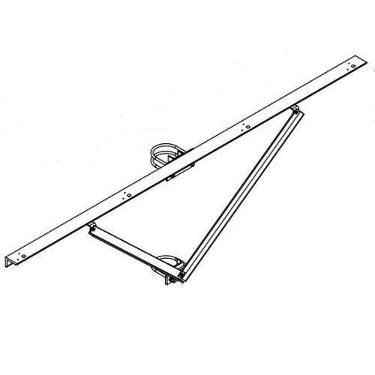 Hubbell Sportslighter Solutions,TCA-R4,MOUNT ACCESSORY, ROUND POLE, 4 FIXTURES