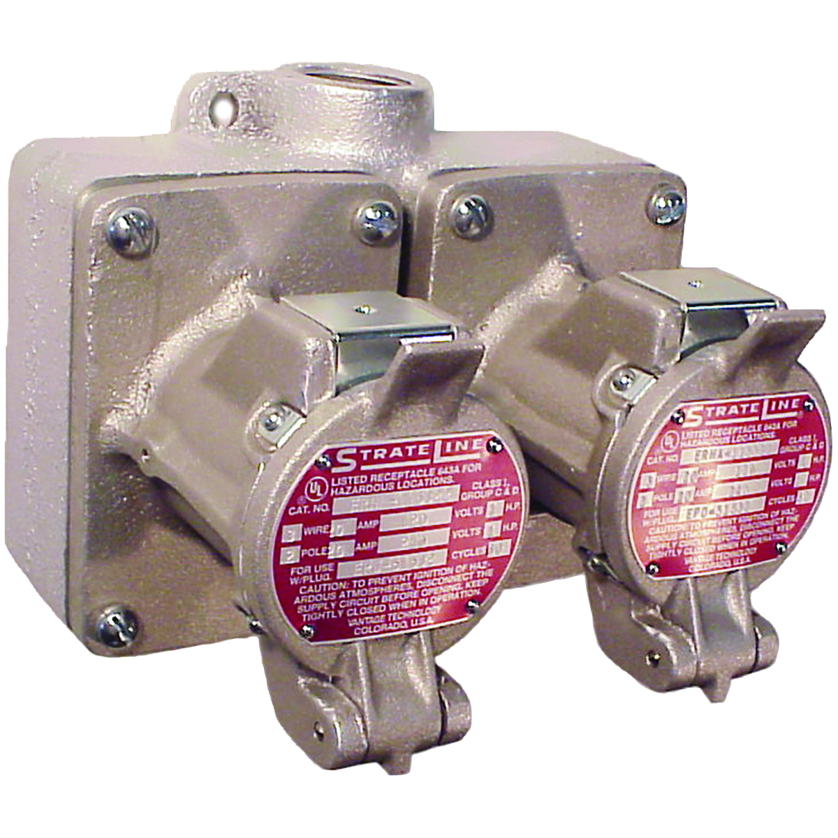 Erh Series Receptacles Hazardous Location Wiring